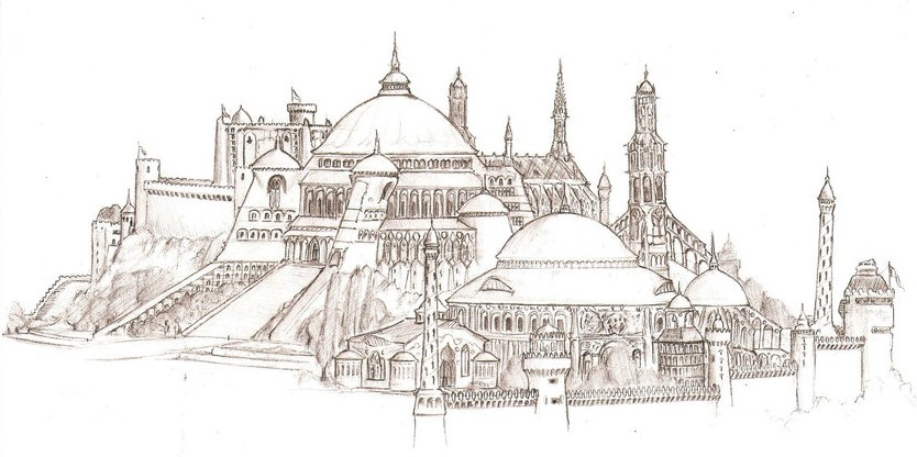 Art Therapy Coloring Page Arab World Constantinople 20