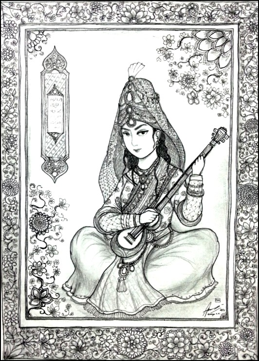 Henna Tattoo Coloring Pages More Coloring Pages Arab