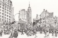 Art Therapy coloring page Manhattan