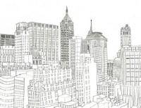 Art Therapy coloring page Financial District