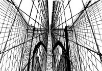 Art Therapy coloring page Brooklyn Bridge