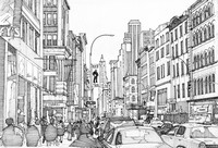 Art Therapy coloring page Broadway