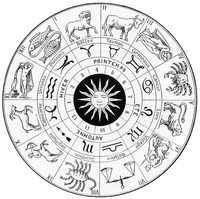 Art Therapy coloring page Zodiac