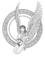 Art Therapy coloring page Virgo
