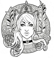 Art Therapy coloring page Libra