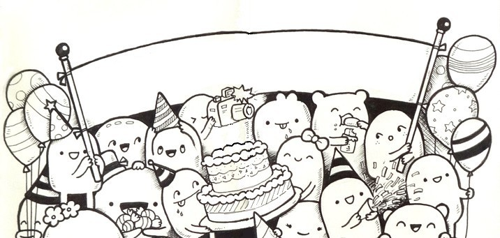 coloriage happy birt