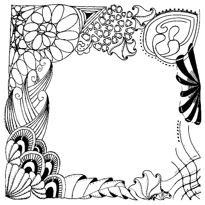 dibujo para colorear relajante cumpleanos 2