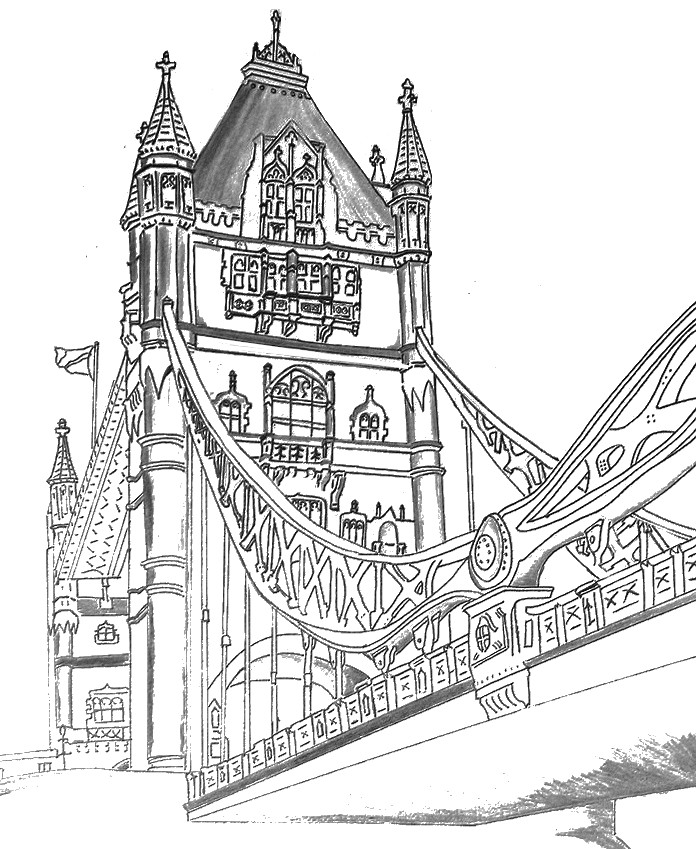 More Coloring Pages London