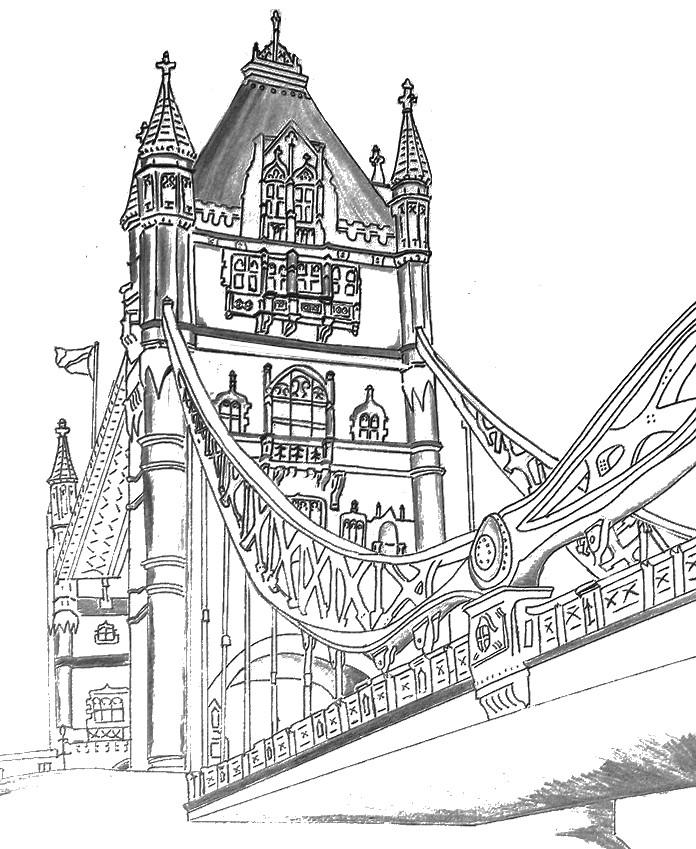 Immagini Di Londra Da Colorare.Disegni Da Colorare Per Adulti Londra