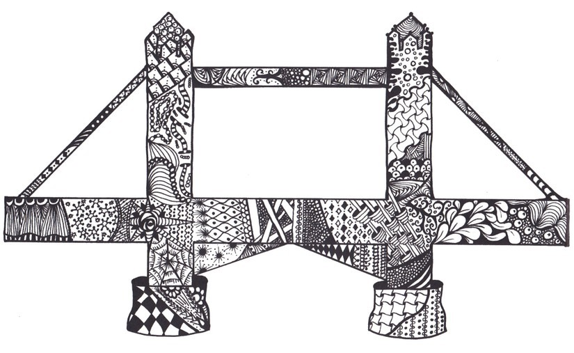tower bridge more coloring pages - Paris Eiffel Tower Coloring Pages
