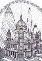 Coloriage anti-stress Londres