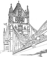 Coloriage anti-stress Tower of London