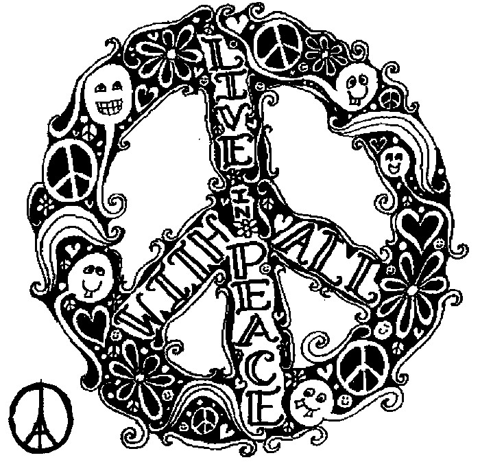 paris coloring pages for adults - art therapy coloring page peace for paris live in peace