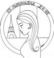 Art Therapy coloring page Peace for Paris