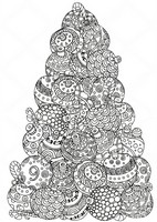 Art Therapy coloring page December 9th