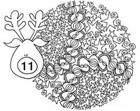 Art Therapy coloring page December 11th