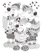 Art Therapy coloring page December 12th