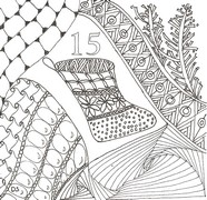 Art Therapy coloring page December 15th