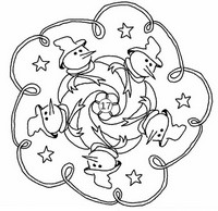 Art Therapy coloring page December 17th