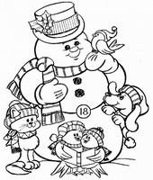 Art Therapy coloring page December 18th