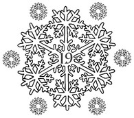Art Therapy coloring page December 19th