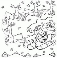 Art Therapy coloring page December 23rd