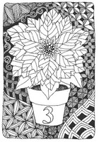 Art Therapy coloring page December 3rd