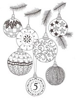 Art Therapy coloring page December 5th
