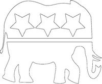 Art Therapy coloring page Republican Party