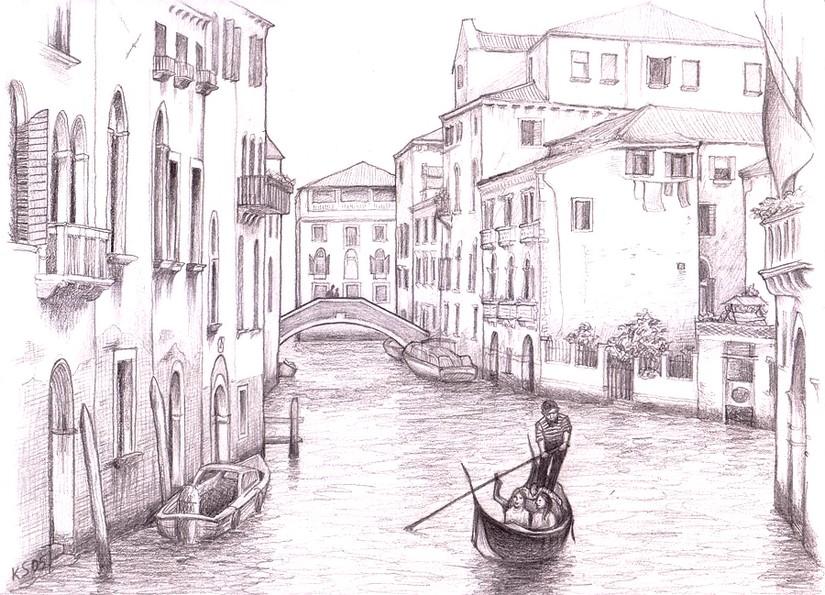Ausmalen Als Anti Stress Italien Venedig 2