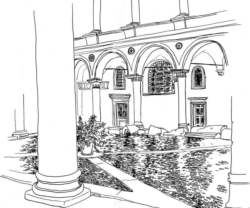Adult Coloring Pages Italy
