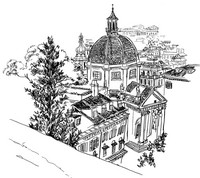 Art Therapy coloring page Italy