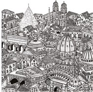 Art Therapy coloring page Rome