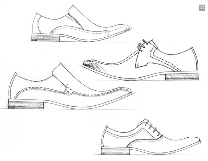Adult coloring page Shoes : Men dress shoes 13