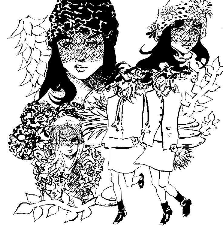 Anti Stress Kleurplaten Haute Couture Chanel 8
