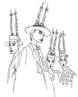 Art Therapy coloring page Thom Browne
