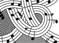 Art Therapy coloring page Music!