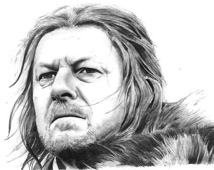 Disegno da colorar antistress Game of Thrones