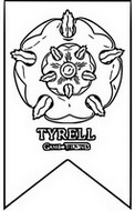 Coloriage anti-stress Tyrell