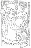 Art Therapy coloring page Feast of the Assumption
