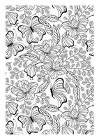 Kleurplaten Vlinders Voor Volwassenen.Kleurplaten Voor Volwassenen Vlinders