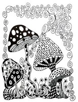 Art Therapy coloring page Squirrel