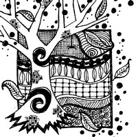 Art Therapy coloring page Autumn