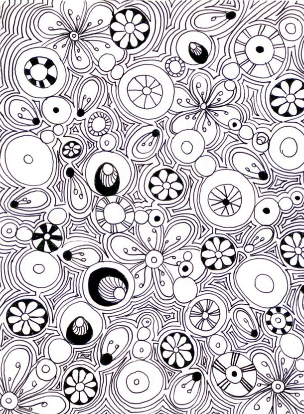 Kleurplaten Mandala Lente.Kleurplaten Voor Volwassenen Lente