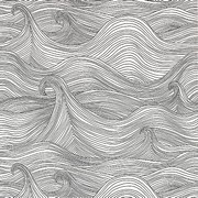 Art Therapy coloring page Waves