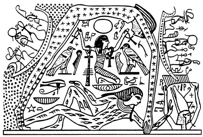 Art therapy coloring page egypt egypt representation of Coloring book for adults egypt