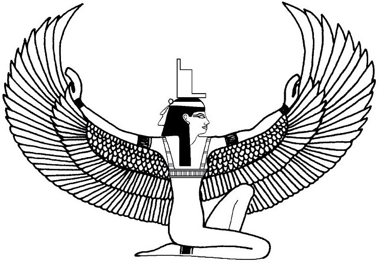 Free Egyptian God Coloring Pages, Download Free Clip Art, Free ... | 518x744