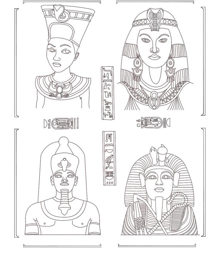 Ausmalen Erwachsene Agypten 196 Gypten 228 Gyptische G 246 Tter 7