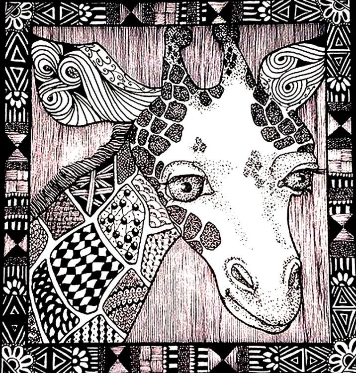 malvorlage afrikanerin  coloring and malvorlagan