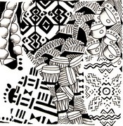 Art Therapy coloring page Tom-tom